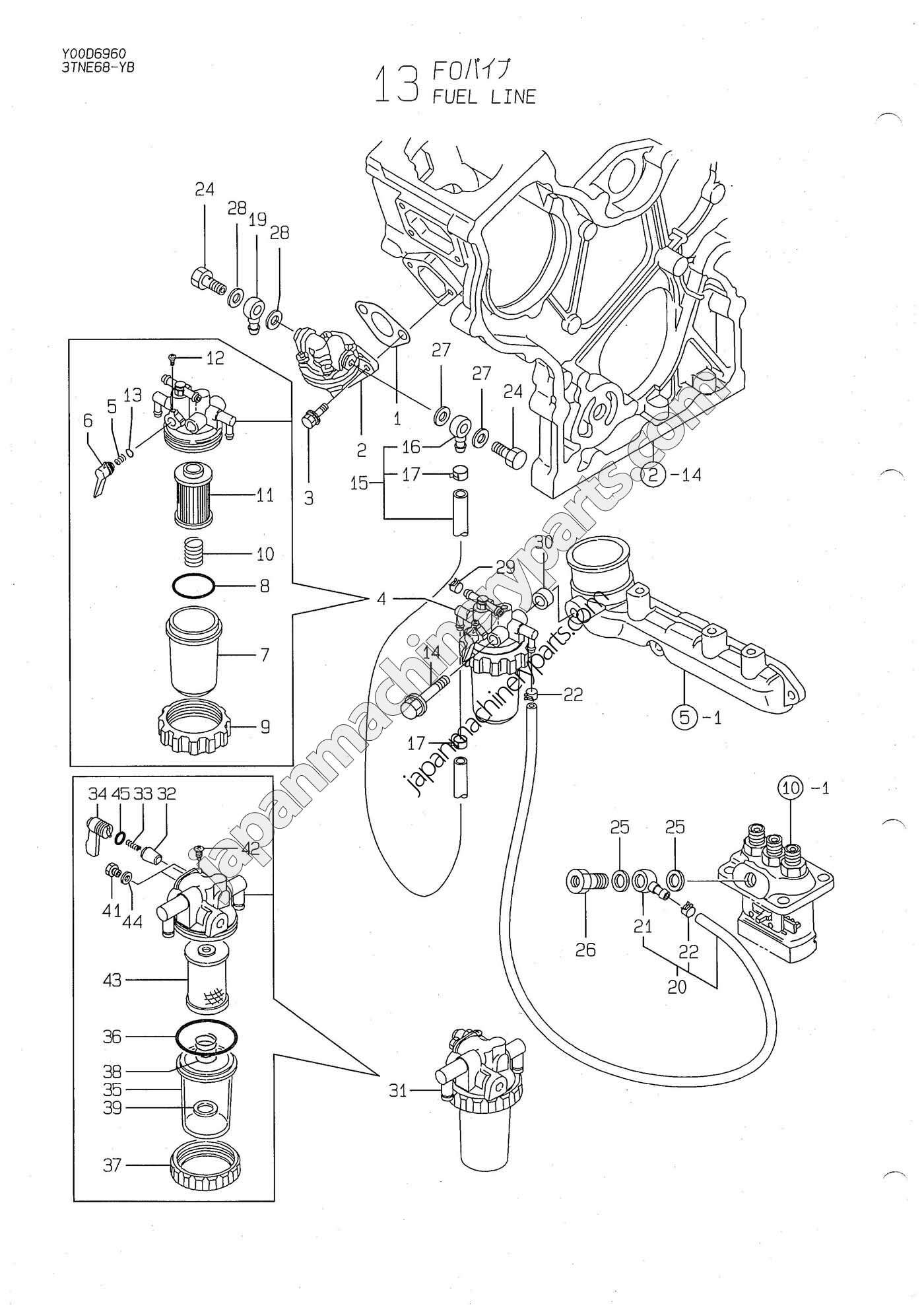 4tne98 Parts Manual