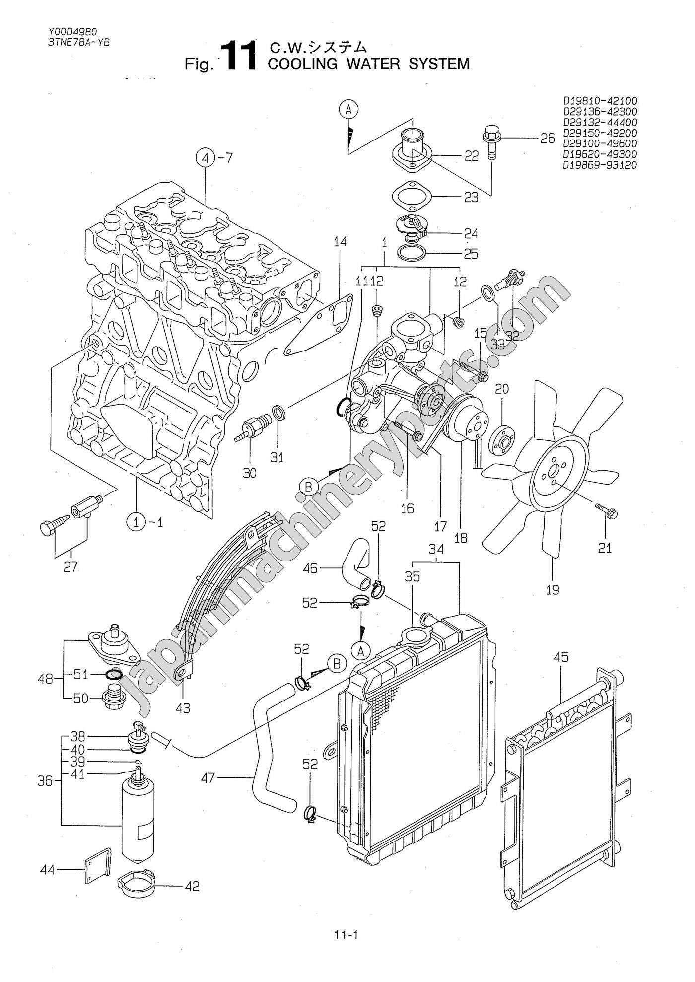 Yanmar Tractor Hydraulic Pump Diagram Electrical Wiring Diagrams 1700 Ignition Cooling System Find U2022 Sc2450 Tractors