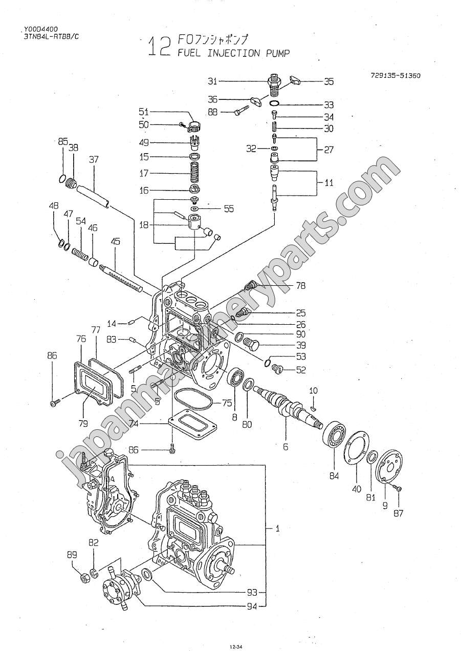 yanmar 2gm20 parts  diagram  auto wiring diagram