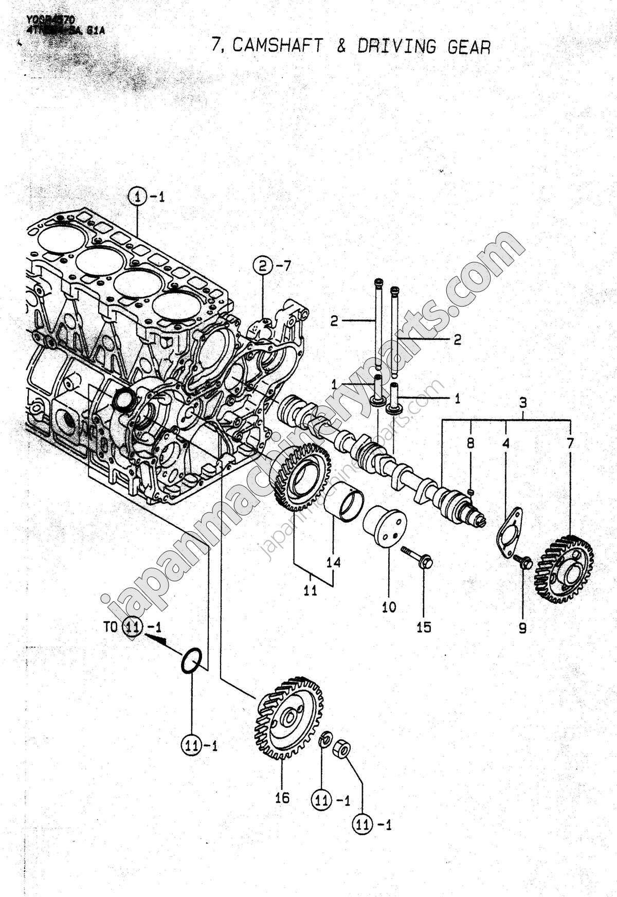 yanmar parts diagram