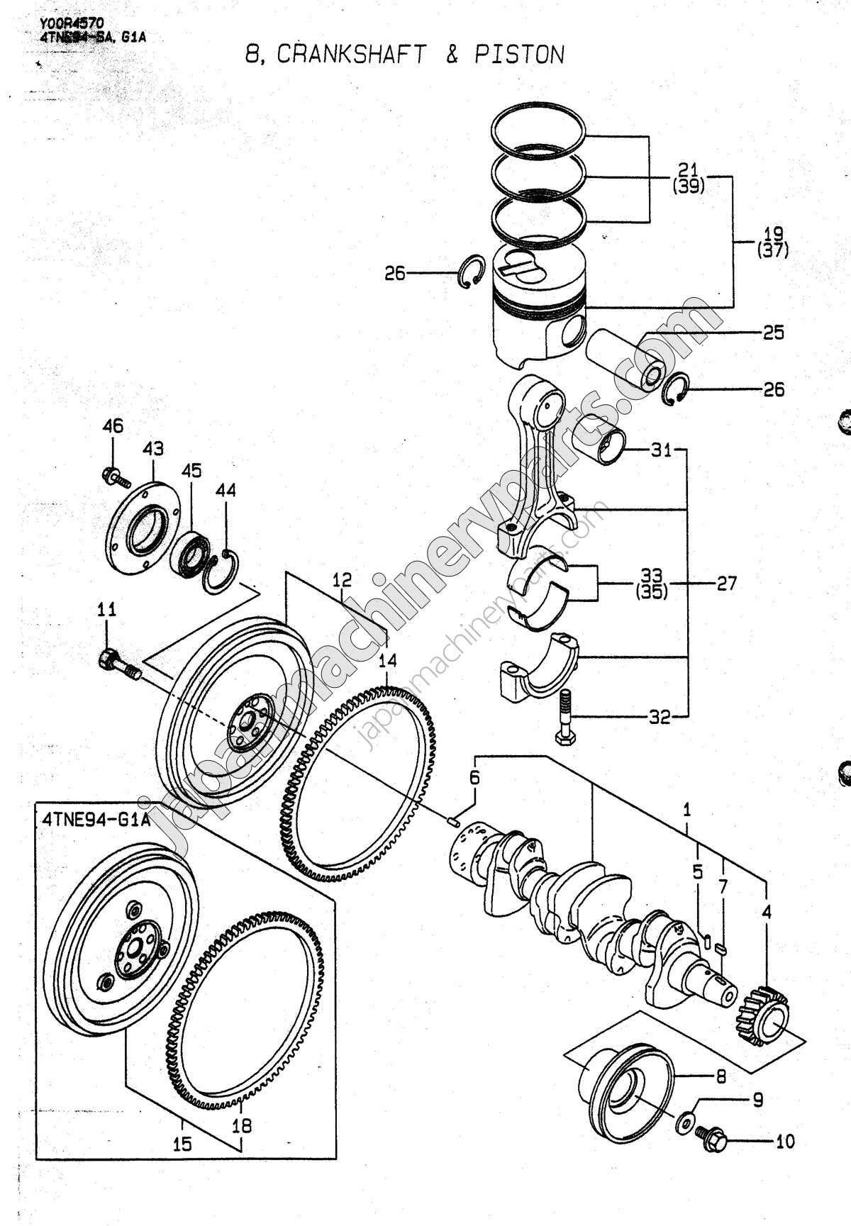 Engine Parts And Functions