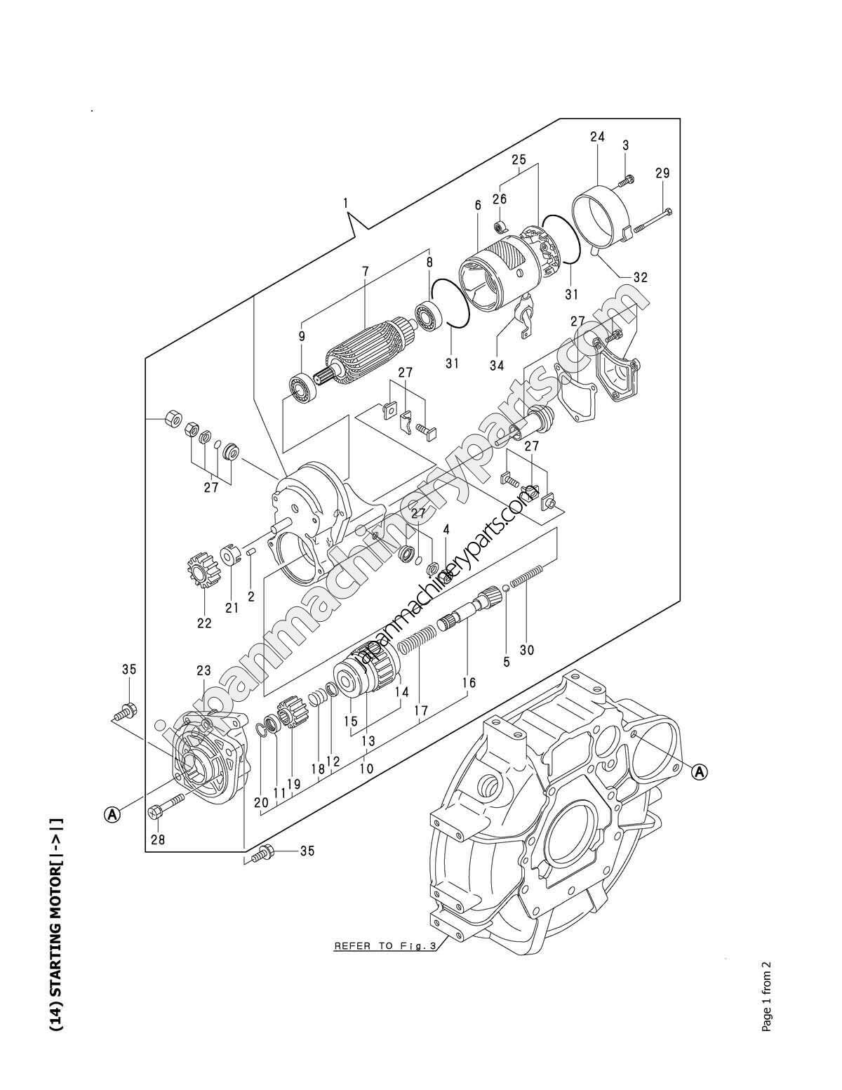 1700 Yanmar Engine Parts Breakdown : Wiring diagram for ford tractor imageresizertool