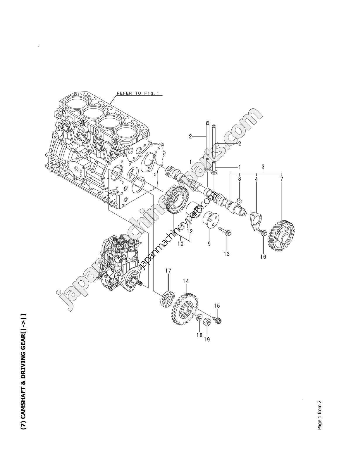 parts for yanmar 4tnv88
