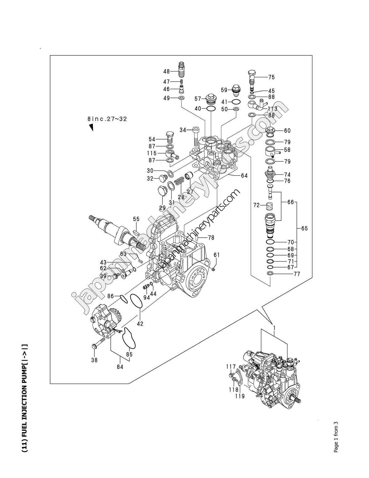 Yanmar Injector Pump Diagram Injection Wiring Fuel Example Electrical U2022 Manual Parts For