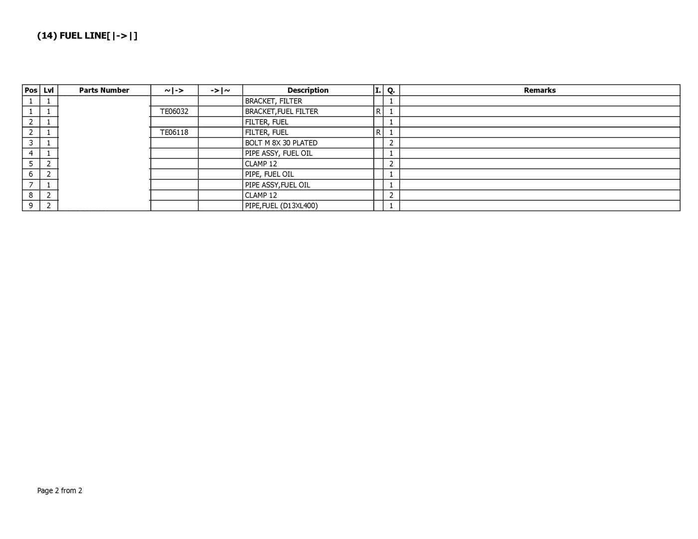 Parts for YANMAR 4TNV88-PBV
