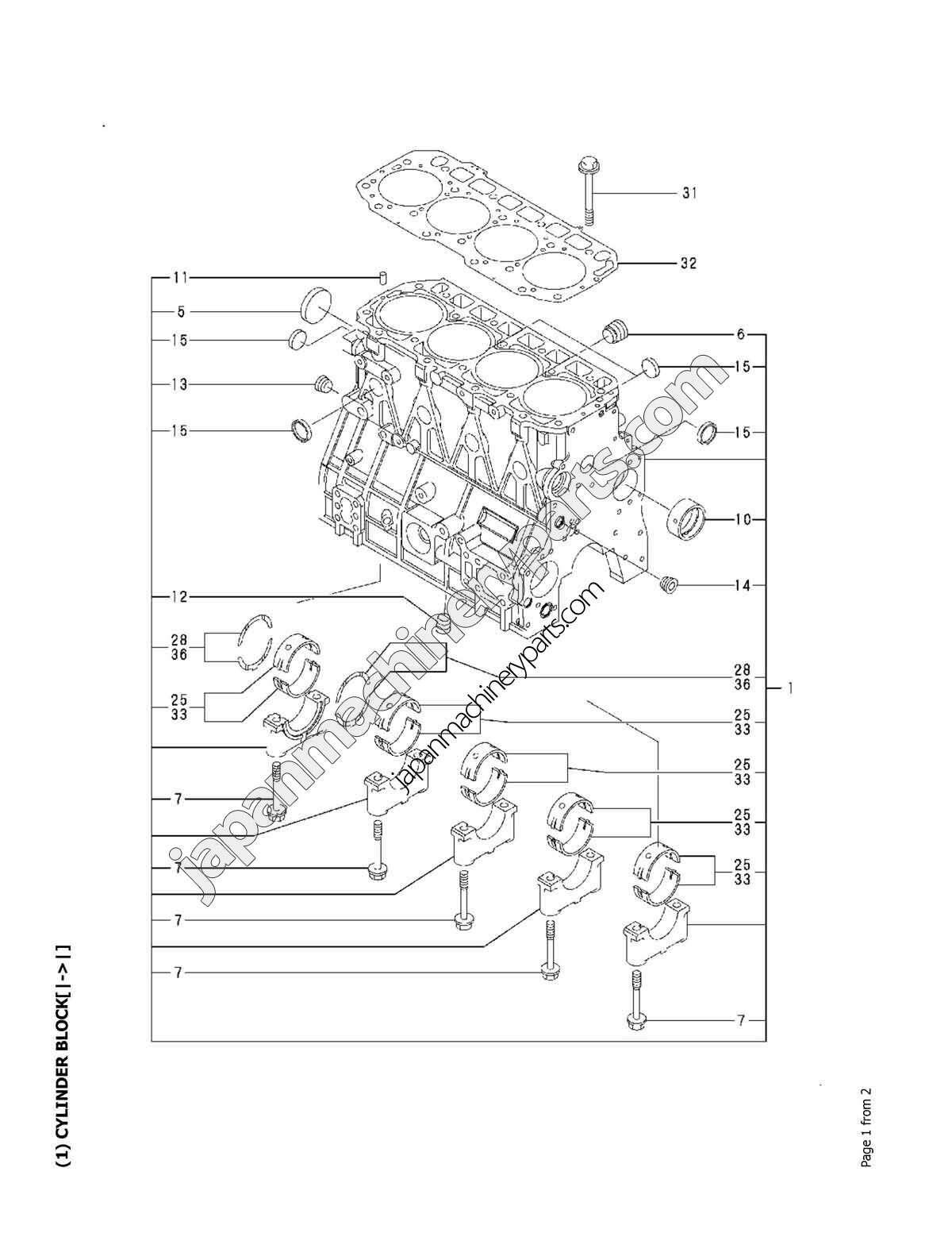 Yanmar Engine Diagram Schematics Wiring Diagrams Boat Harness Tractor L100 Marine Diesel