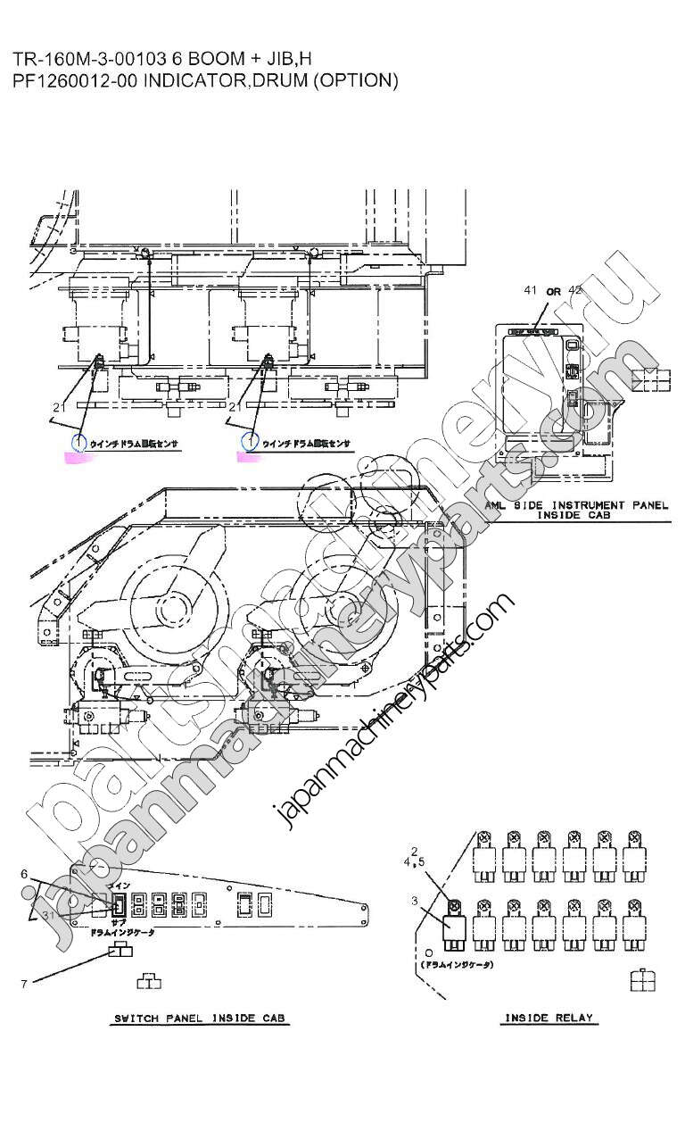 parts for aichi tr 160m 3 rh japanmachineryparts com User Guide Owner's Manual