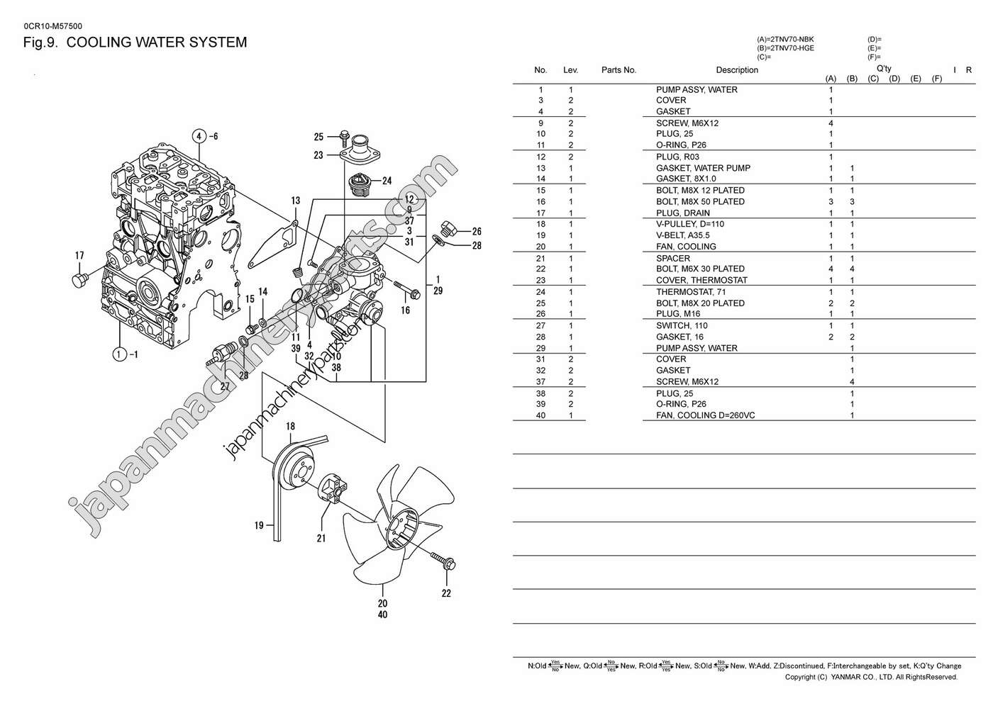 yanmar 1gm10 engine diagram ge tbx21j refrigerator wiring