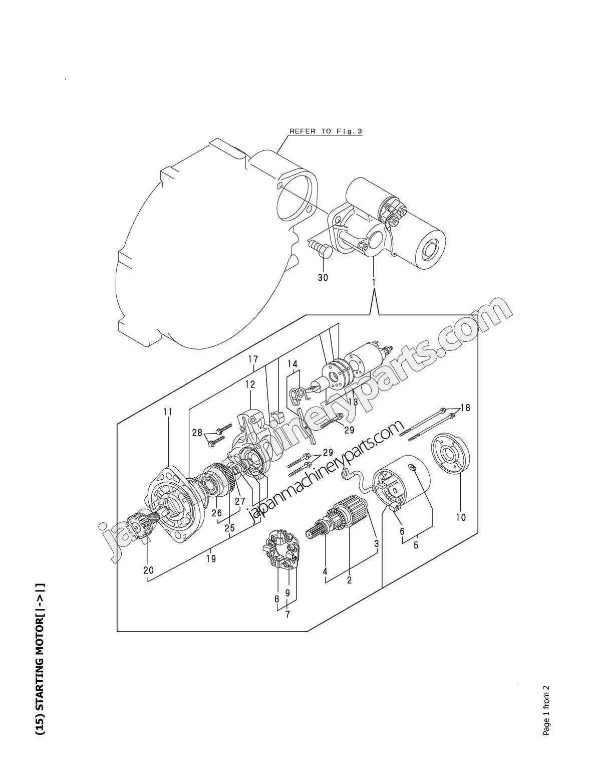 Parts for YANMAR 4TNE88-EBVC