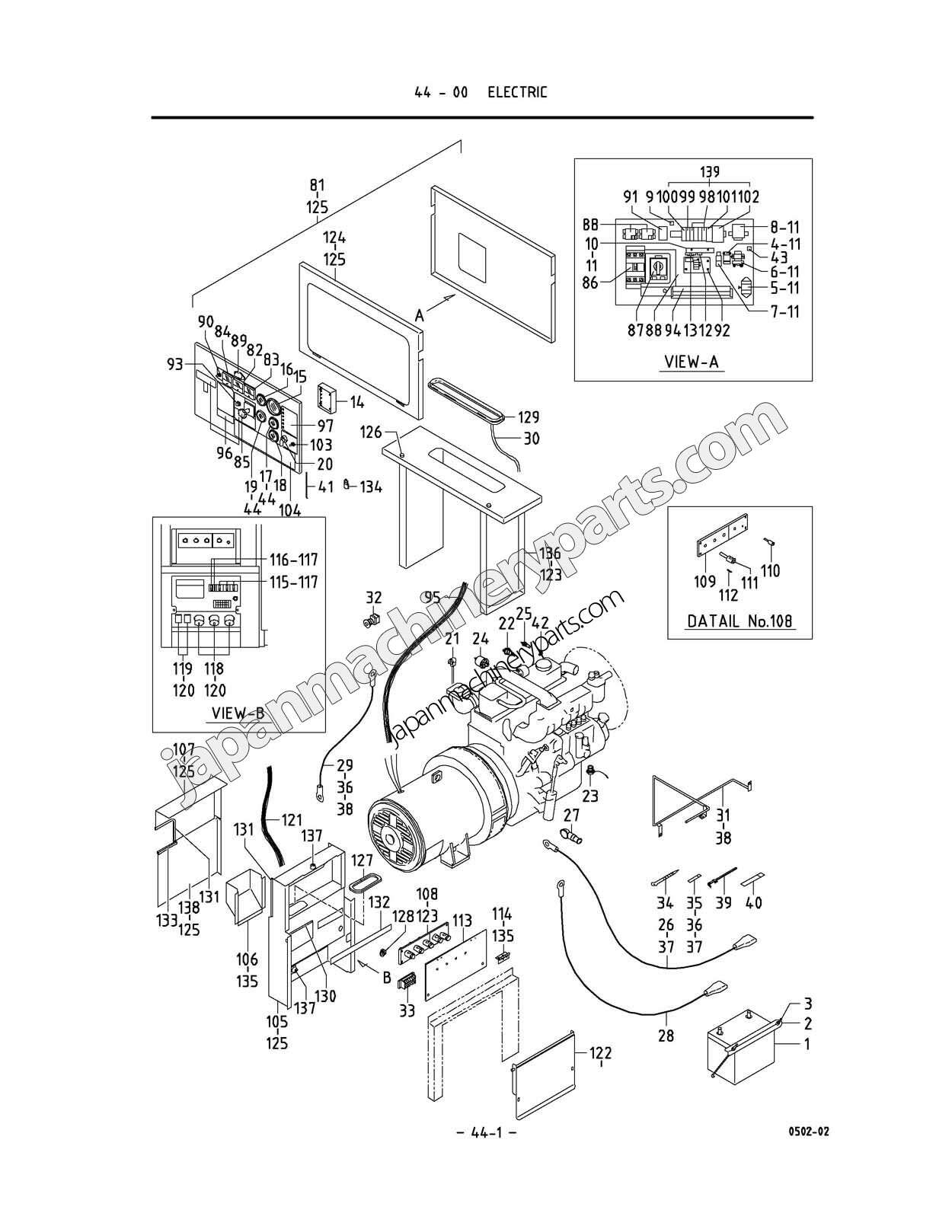 Airman Generator Wiring Diagram Generac Model 0059430 Recibosverdesorg Parts For Sdg45s6a6