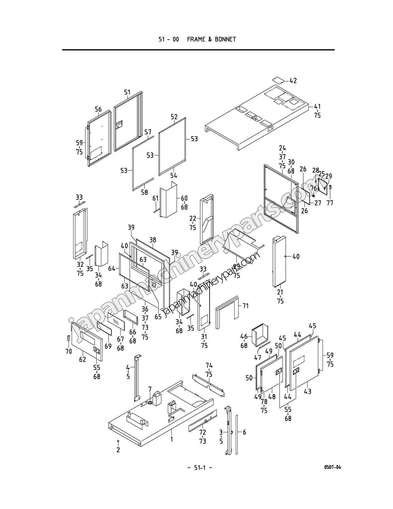 parts for airman sdg45s