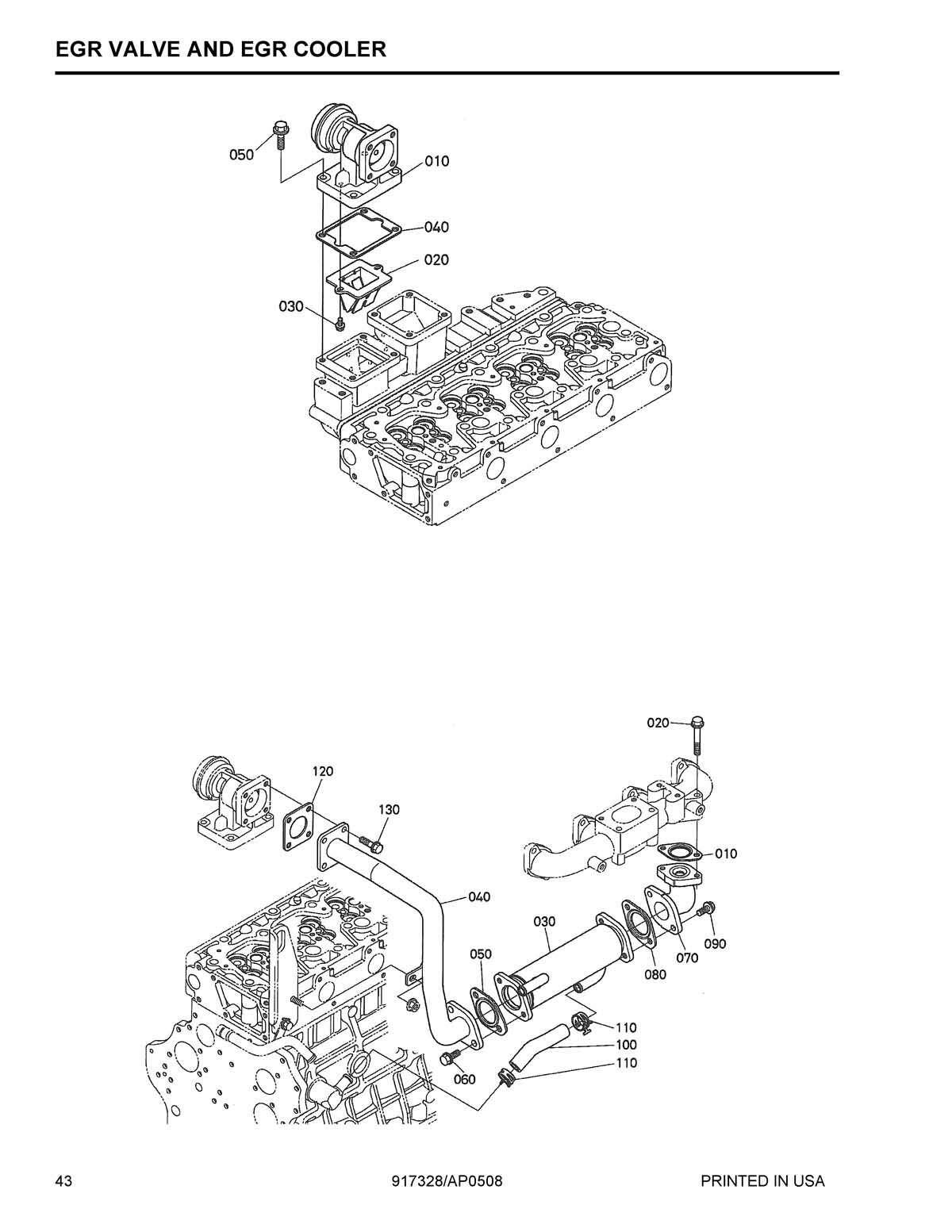 parts for kubota v3800